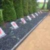 Einweihung der neugestalteten Gedenkstätte in Breitenfeld (Hansestadt Gardelegen)